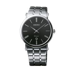The Premier men's collection includes quartz and mechanical calibers, but front and center is a range of Kinetic watches, including the remarkable Kinetic Direct Drive, a motion powered watch which reveals energy transfer in real time. Cool Watches, Watches For Men, Art Of Manliness, Seiko Watches, Watch Brands, Men's Collection, Omega Watch, Swatch, Quartz