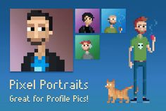 Custom Pixel Art Cartoon Portraits on Fiverr! Have your pixel art portrait drawn by Stone Dragon Workshop on Fiverr! This works great for social media profile pictures, etc! View this gig in more detail : https://www.fiverr.com/s2/707a0eb818