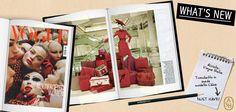 """Vogue Italia celebra una Parigi lussuosa ed elegante. Il tronchetto ASH in suede, modello Chloe in rosso cardinale, è il protagonista del servizio """"speciale accessori"""" fw12/13, firmato dalla stylist Enrica Ponzellini.  #ashitalia"""