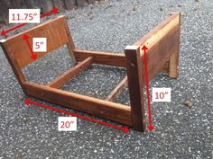Diy Doll Bed From Scrap Wood (easy Enough For Any Beginner)