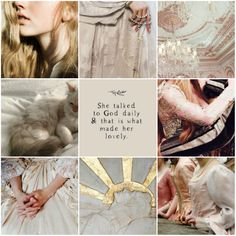 clarice sigrian; moodboard govern by justeene ruston