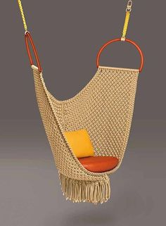 """Patricia Urquiola, Swing Chair for Louis Vuitton """"Objets Nomades""""   Collaborations at Design Miami 2015"""