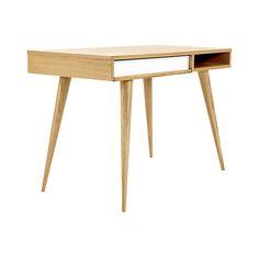 Celine Desk  Industrial, MidCentury  Modern, Wood, Desks  Writing Table by Design Within Reach