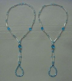 Barefoot Beaded Sandal Patterns | Barefoot Sandals - Foot Jewelry
