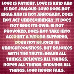 Yet love, is also very very scarce. Treasure it.