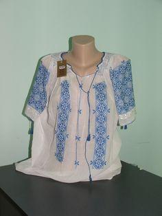 Artizanat Marama Producator Textile Artizanat Articole artizanat ... Tunic Tops, Blouse, Long Sleeve, Sleeves, Women, Fashion, Embroidery, Moda, Women's