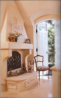 """""""I Like This as It's Different and Attractive with class"""". Peach Valley, Vintage Stoves, Shades Of Peach, Rose Cottage, Garden Cottage, Cozy Nook, Decorating With Pictures, Peach Blossoms, French Interior"""