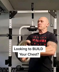 Gym Workout Chart, Gym Workout Videos, Gym Workout For Beginners, Workout Guide, Chest Workout Routine, Chest Workouts, Chest Workout For Men, Chest Exercises, Gym Workouts For Men