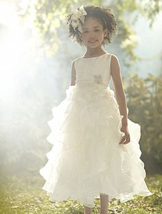 Disney's Fairy Tale Weddings by Alfred Angelo Jasmine flower girl dress, Style 705 #wedding #flower #girl