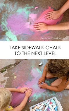 5 Ways Take Sidewalk Chalk to the Next Level *love #2