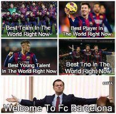 Lionel Messi najlepszym piłkarzem na świecie • Suarez, Neymar i Messi najlepszym trio • FC Barcelona najlepszą drużyną • Zobacz >>
