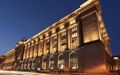 Customs House - Grazing with Lumenfacade.
