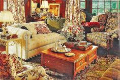 This is my favorite room of all time. It was in the first Ethan Allen catalog I was given from them. I now buy all my furniture from them. I love Ethan Allen furniture!