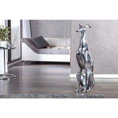 Modern decoratie Greyhound 70cm - 8891