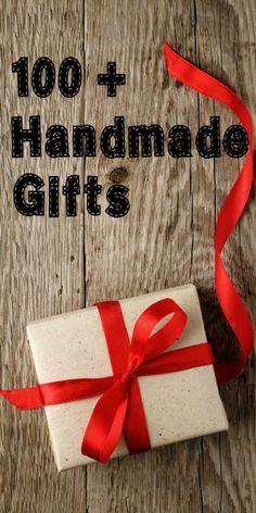 100 or more handmade gift ideas