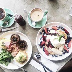 Acai Bowl, Fruit, Healthy, Breakfast, Instagram Posts, Food, Acai Berry Bowl, Morning Coffee, Health
