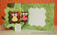 Owl Flip Card. Has a link to a Youtube video for the instructions.