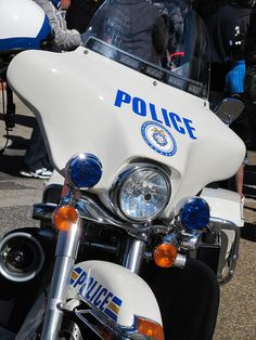 Memphis Police Motorcycle by Mr. Littlehand, via Flickr    www.setcomcorp.com