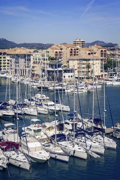 The Fréjus harbour #CoteDAzur #France