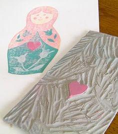 reduction lino print tutorial