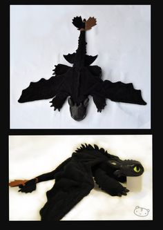 toothless plush! WANT!