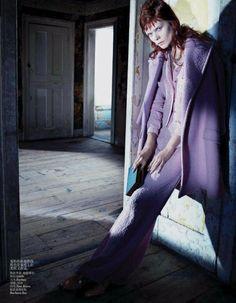 Vogue China July 2013 Model: Irina Kravchenko
