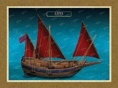 ΣΑΪΤΑ Όλες οι εικονογραφήσεις είναι από το βιβλίο της ΑΡΤΕΟΝ ΕΚΔΟΤΙΚΗΣ: Πειρατικά και κουρσάρικα σκαριά των θαλασσών μας. 18ος-19ος αιώνας. Ένα ταξίδι στον κόσμο των πειρατικών και κουρσάρικων σκαριών και στη ζωή των προγόνων μας. www.e-arteon.gr Sailing Ships, Boat, Dinghy, Boats, Sailboat, Tall Ships, Ship