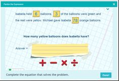 Operations and Algebraic Thinking - Problem Solving for grade 3
