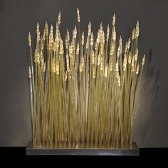 "*Art Glass - ""Wheat Installation"" by JP Canlis"