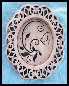 Scrollsaw Workshop: Free beautiful scroll saw pattern from Sheila Landry Designs.