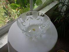 Cris D'Arques Royale Pattern Fruit Bowl