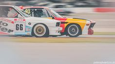 BMW 3.0CSL is a Speeding Art Exhibit - Photography by Peter Aylward