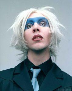 Marilyn Manson-Oh I just see now ,it has ll  be blonde!