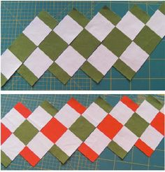 Getas Quilting Studio: Fun with stripes- Quilting Tutorial - tons of ideas here, great ideas.