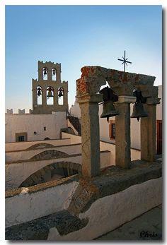 Photograph Patmos by Chris Dimitriou on Beautiful Islands, Beautiful Places, Santorini Villas, Myconos, Greek Isles, Greece Islands, Travel Memories, Vacation Places, Travel Pictures