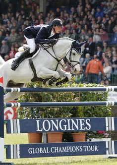 Daniel Deusser and Cornet D'Amour take 2nd place in Hamburg #LGCT #showjumping
