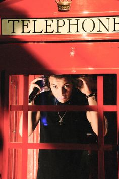 Man, I would of just locked him in it and been like, I bought this old telephone booth, so I'm just gonna take it home, no big deal, and you know, never let it out of my sight.