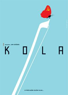 One of the film posters from Homework, a Polish design studio that uses minimal iconography and photography to imagine and reimagine film posters.