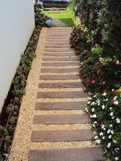 57 Excited Garden Path And Walkway Ideas Design Ideas And Remodel 57 Excited Garden Path And Walkway Ideas Design Ideas And RemodelWell planned road pages don't just make crossing the page easier but also h Back Gardens, Small Gardens, Outdoor Gardens, Side Garden, Garden Paths, Garden Projects, Wells, Backyard Landscaping, Beautiful Gardens