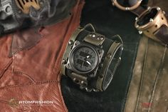Commando mens military-industrial watch