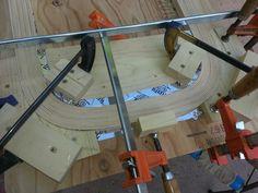 Bending wood for walker