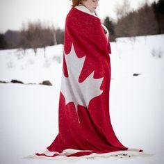 Cabin Maple Blanket