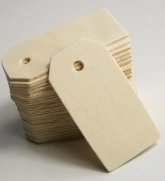 wood hang tags, save-on-crafts