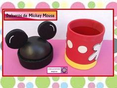 ♥DULCERO DE MICKEY MOUSE♥- ♥♥CREACIONES mágicas♥♥ - YouTube