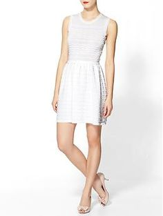 RED Valentino Cotton Yarn Dress   Piperlime