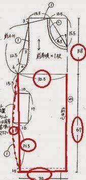 Patrón gratis: vestido globo. Copiando el diseño japonés de Moyuru
