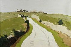 Road to the Farm, Sir Kyffin Williams, oil on canvas