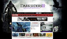 Habillage Darksiders II sur jeuxvideomagazine.com pour THQ.  A retrouver également sur jeuxvideo.fr, gameblog.fr et jeuxactu.com