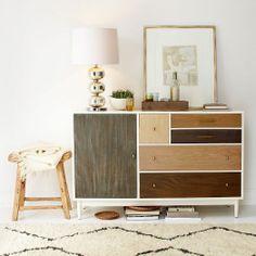 Patchwork Dresser | west elm - a girl can dream, right?