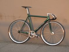 https://flic.kr/p/prLE87 | 1993 Cannondale Track, 56cm, Custom Green